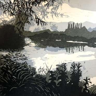 Thumbnail image of Jo Sheppard, 'Walk along the Soar' - Inspired   April