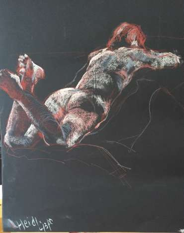 Thumbnail image of Judy Merriman, 'Lady Reclining' - Inspired   April