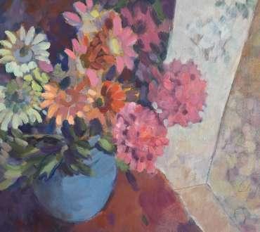 Thumbnail image of Lesley Brooks, 'Chintz' - Inspired   April