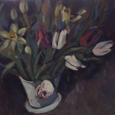 Thumbnail image of Lesley Brooks, 'Flowers for a Friend' - Inspired   April
