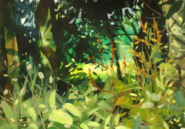 Thumbnail image of Peter Clayton, 'Celebrate Urban Trees – Wild Flowers amongst trees' - Inspired   April