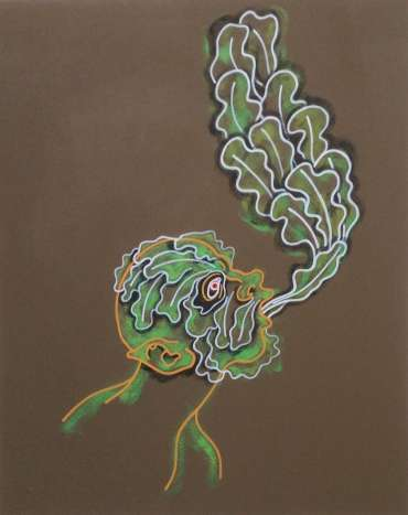 Thumbnail image of Phil Redford, 'Song of the Earth: Green Man' - Inspired   April