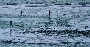 Thumbnail image of Sally Hill, 'Beach in Winter' - Inspired   April