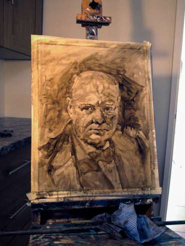 Thumbnail image of Kelvin Adams, 'Churchill' - Stage 1 - Inspired |  May