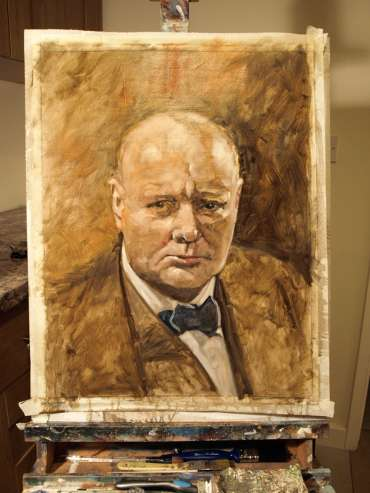 Thumbnail image of Kelvin Adams, 'Churchill' - Stage 2 - Inspired |  May