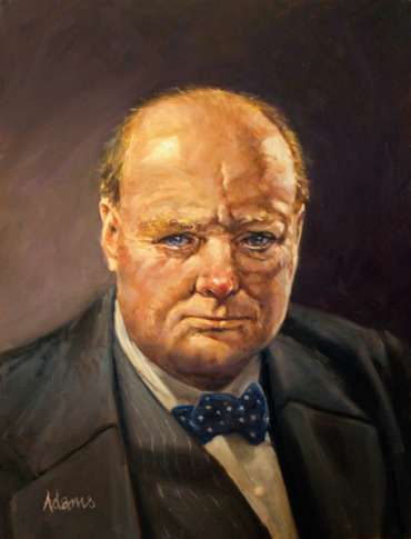 Thumbnail image of Kelvin Adams, 'Churchill' - Stage 3 - Inspired |  May