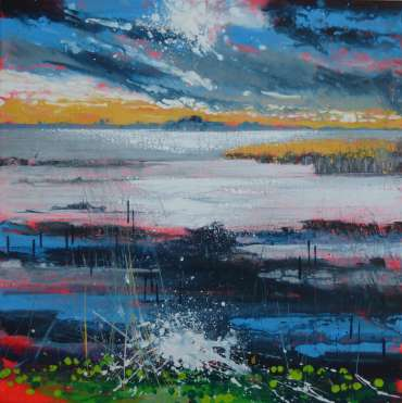 Thumbnail image of Philip Dawson, 'Lax Hill, Rutland Water' - Inspired |  May
