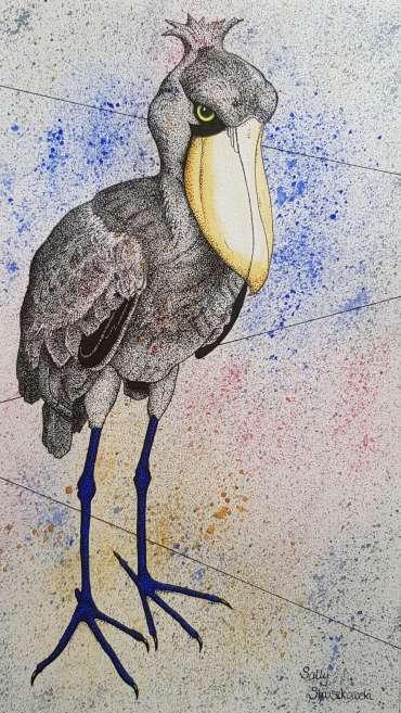 Thumbnail image of Sally Struszkowski, 'Big Bird' - Inspired |  May