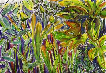 Thumbnail image of Sue Clegg, Garden Study 2 for 'England's Green and Pleasant Lands' - Inspired |  May
