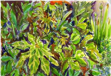 Thumbnail image of Sue Clegg, Garden Study 3 for 'England's Green and Pleasant Lands' - Inspired |  May