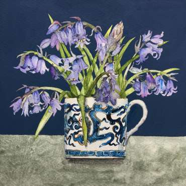 Thumbnail image of Vivienne Cawson, 'Bluebells in Coalport' - Inspired |  May