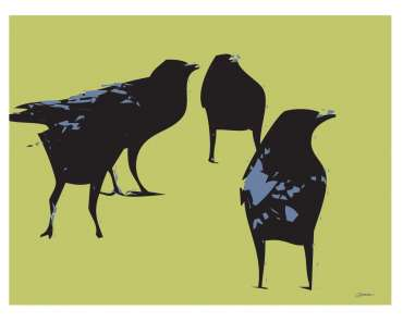 Thumbnail image of David Clarke, 'A Murder of Crows' - Inspired | June