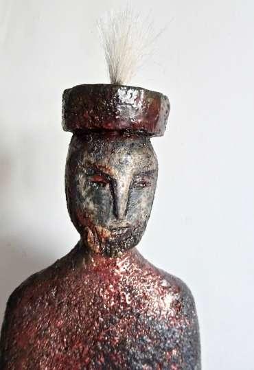 Thumbnail image of Henrietta Corbett, 'Tribal King' - Inspired | June