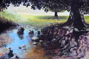 Thumbnail image of Jo Sheppard, 'Dappled Sunlight on the River Lin' - Inspired | June
