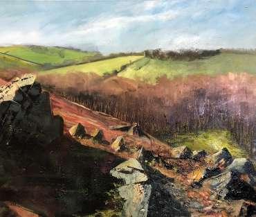 Thumbnail image of Jo Sheppard, 'Permissive Path' (work in progress) - Inspired | June