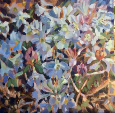 Thumbnail image of Lesley Brooks, 'Rhododendrons - White' - Inspired | June