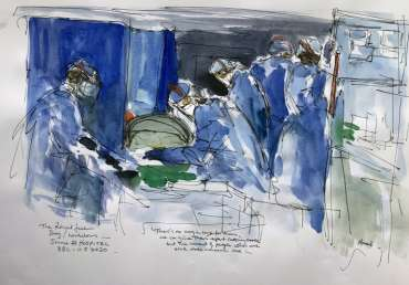 Thumbnail image of Maxine Dodd, 'Royal Free Hospital', BBC 11.05.2020 - Inspired | June