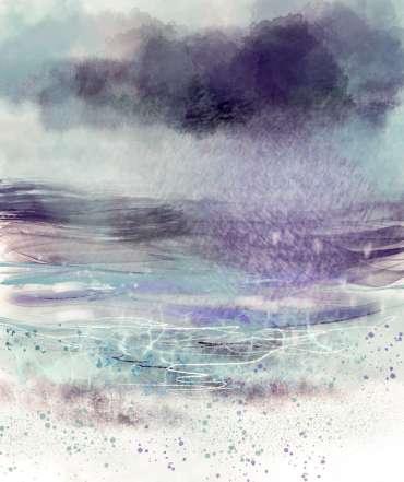 Thumbnail image of Vivien Blackburn, 'Approaching Rain' - Inspired | June