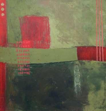 Thumbnail image of Bim Fowler, 'July Abstract 3' - Inspired | July