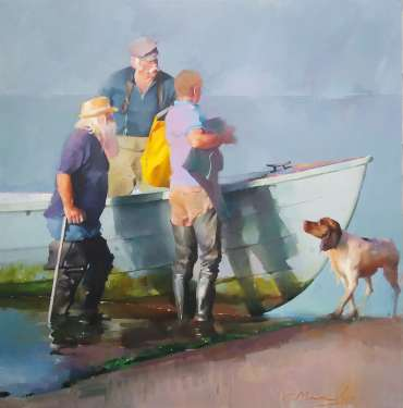 Thumbnail image of Chris Macauley, 'Salty Sea Dogs' - Inspired | July