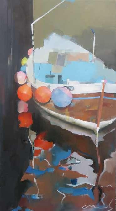 Thumbnail image of Chris Macauley, 'Estuary Fishermen' - Inspired | July