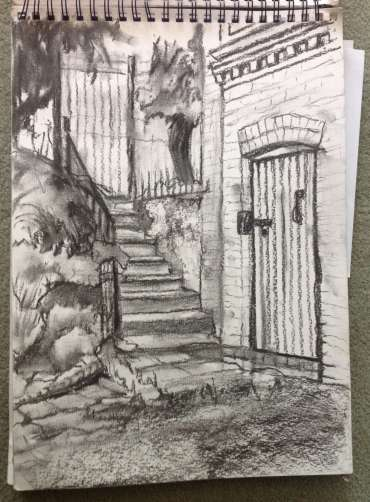 Thumbnail image of Glen Heath, 'Steps down to the Canal Gardens - Inspired | July