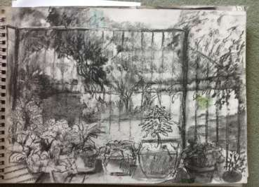 Thumbnail image of Glen Heath, 'Verandah, Canal Gardens' - Inspired | July