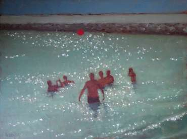 Thumbnail image of Graham Lacey, 'Red ball' - Inspired | July