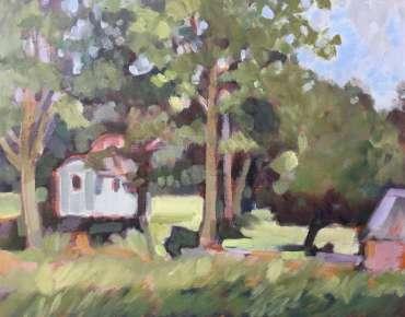 Thumbnail image of Lesley Brooks, 'Launde - Last Summer' - Inspired | July