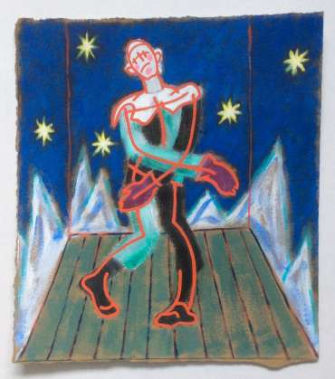 Thumbnail image of Phil Redford, 'Petrushka' (study 1) - Inspired | July