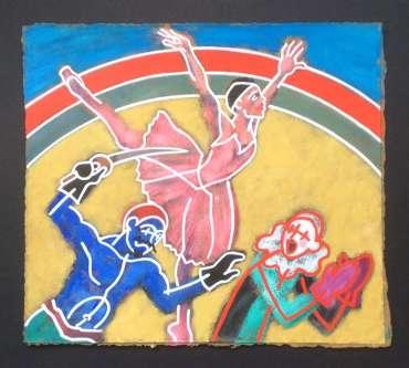 Thumbnail image of Phil Redford, 'Petrushka' (study 2) - Inspired | July
