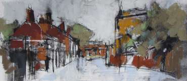 Thumbnail image of Emma Fitzpatrick, 'Castle View, Leicester' - Inspired | August