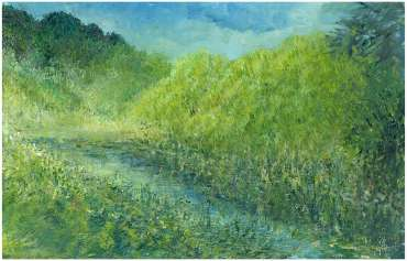 Thumbnail image of Glen Heath, 'Canal Garden, The End' - Inspired | August