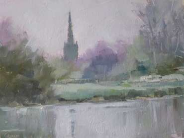 Thumbnail image of Graham Lacey, 'Pastoral View' - Inspired | August
