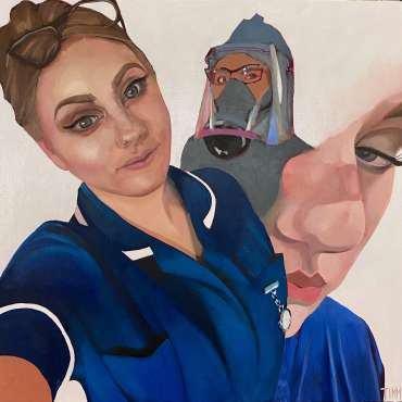 Thumbnail image of Lisa Timmerman, 'Nurse Ellen - Kettering General Hospital' - Inspired | August
