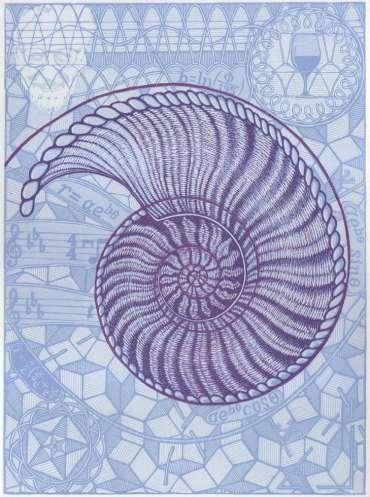 Thumbnail image of Peter Rapp, 'Spira Mirabilis' - Inspired | August