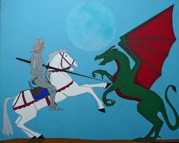 Thumbnail image of Stuart Hill, 'Dragon's Revenge' - Inspired | August