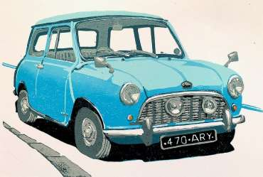Thumbnail image of Frank Bingley, 'Austin Mini Seven' - Inspired | November 2020