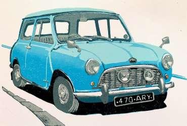 Thumbnail image of Frank Bingley, 'Austin Mini Seven' - Inspired   November 2020