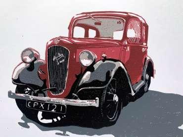 Thumbnail image of Frank Bingley, 'Austin Seven' - Inspired   November 2020