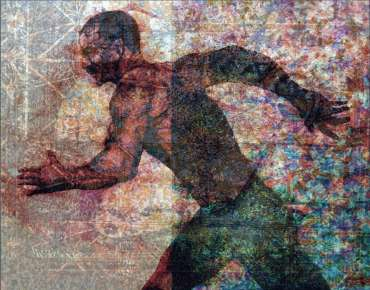 Thumbnail image of George Sfougaras, 'Borderline' - Inspired   November 2020