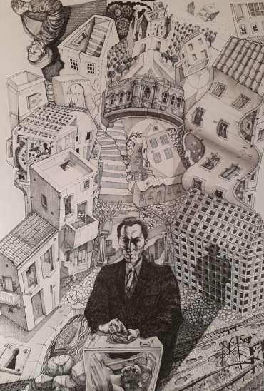 Thumbnail image of George Sfougaras,'Souls' - Inspired   November 2020