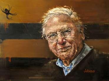 Thumbnail image of Kelvin Adams, Sir David Attenborough - Inspired   November 2020