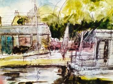 Thumbnail image of Tony O'Dwyer, 'Barrow on Soar Marina' - Inspired | November 2020