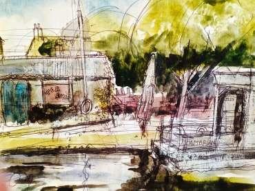 Thumbnail image of Tony O'Dwyer, 'Barrow on Soar Marina' - Inspired   November 2020