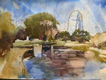 Thumbnail image of Tony O'Dwyer, 'Canal at Leicester Space Centre' - Inspired   November 2020