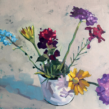 Jane French, Still Life in oils