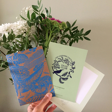 Publications | Mandeep Dhadialla launches The Laughing Cactus Print Club