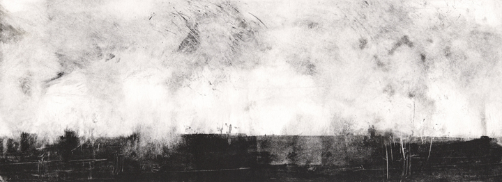 Emma Fitzpatrick, 'Scape 2' collagraph