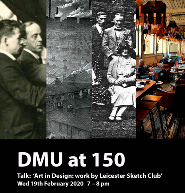 Talk |  Art in Design: Leicester Sketch Club